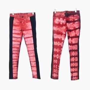 Rag & Bone Tie Dyed One of a Kind Skinny Jeans